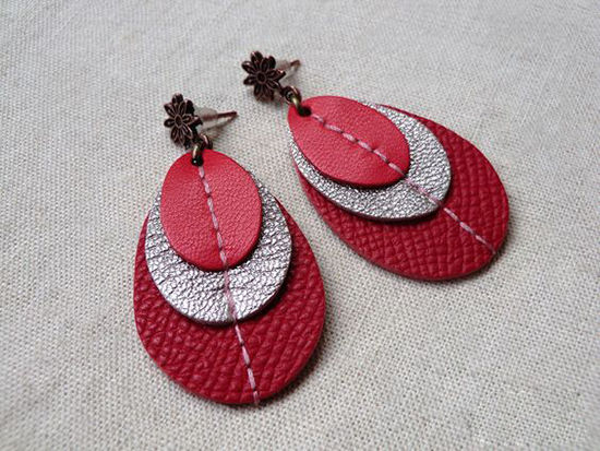 30 Simple Ideas for Design of Handmade Leather Jewelry, фото № 17