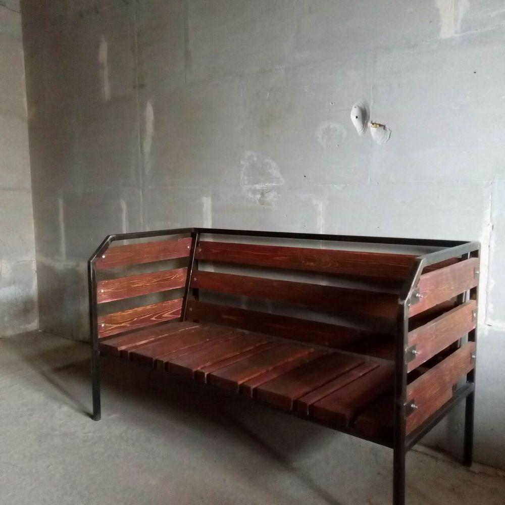 мебель лофт, барные стулья, этажерка в стиле лофт