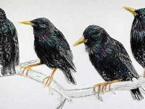 Вдохновлённая природой: текстильный художник Gillian Bates. Ярмарка Мастеров - ручная работа, handmade.