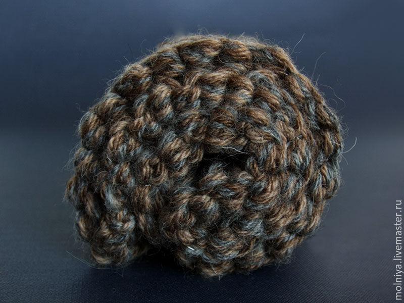 полосатый мужской шарф