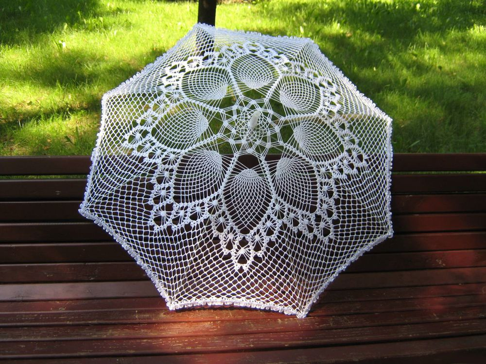 knitted umbrellas