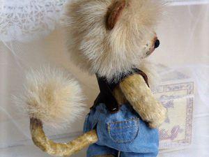 Львёночек для Львёночка | Ярмарка Мастеров - ручная работа, handmade