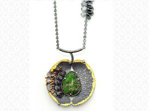 Sooyoung Kim и ее украшения, вдохновленные природой. Ярмарка Мастеров - ручная работа, handmade.