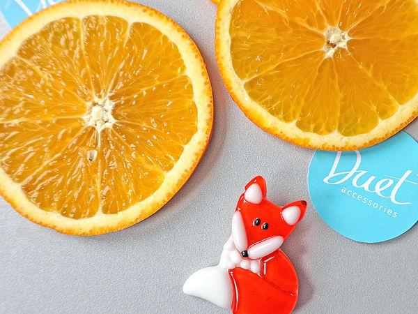 Яркая лисица Бесплатно! | Ярмарка Мастеров - ручная работа, handmade
