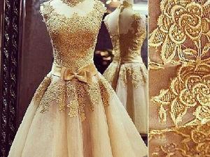 Скромное очарование золота. Ярмарка Мастеров - ручная работа, handmade.