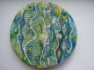 Chris Richard и ее мандалы, вышитые декоративными швами. Ярмарка Мастеров - ручная работа, handmade.