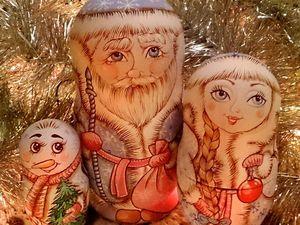 ...если вы хотите Новогоднюю матрёшенцию.... Ярмарка Мастеров - ручная работа, handmade.