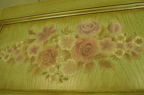 мебель с роспиью, строгановская роспись