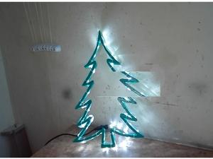 Делаем светодиодную ель в подарок для детского сада. Ярмарка Мастеров - ручная работа, handmade.