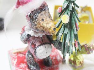 Мастер-класс по оформлению новогоднего подарка. Ярмарка Мастеров - ручная работа, handmade.