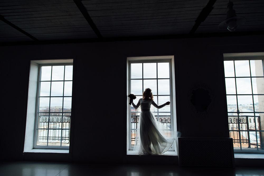 свадебная фотосессия, украшение для невесты