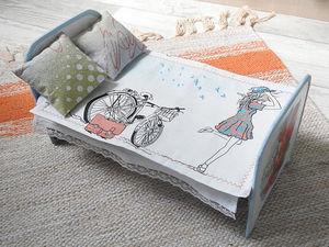 Интерактивная игра «Дочки-матери». Кровать для мамы. Часть 2. Ярмарка Мастеров - ручная работа, handmade.