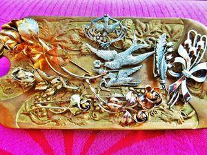 Скоро в моём магазине появится много старинных серебряных брошей!. Ярмарка Мастеров - ручная работа, handmade.