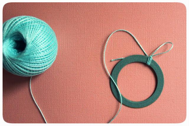 вязание, мятная