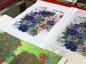 Матовые и глянцевые вышивки бисером | Ярмарка Мастеров - ручная работа, handmade