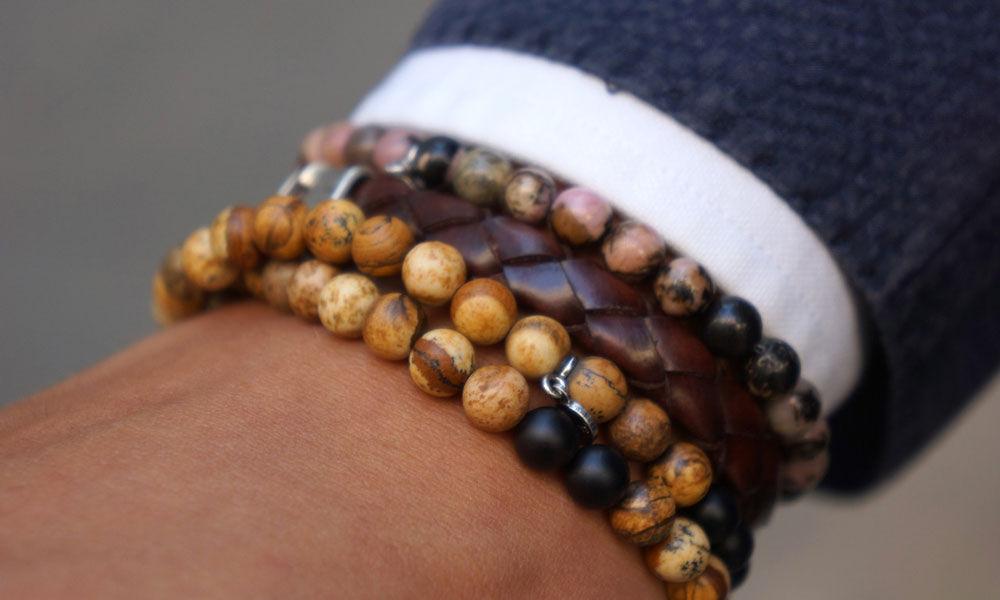 Мужские браслеты на грани стиля унисекс, фото № 31