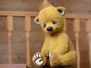 Мастер-Класс Большой Мишка (33 см) Кати Беспаловой в Москве | Ярмарка Мастеров - ручная работа, handmade