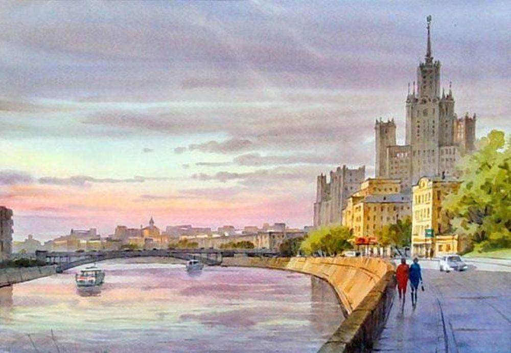 Акварельные пейзажи художника Ильи Горгоца, фото № 37