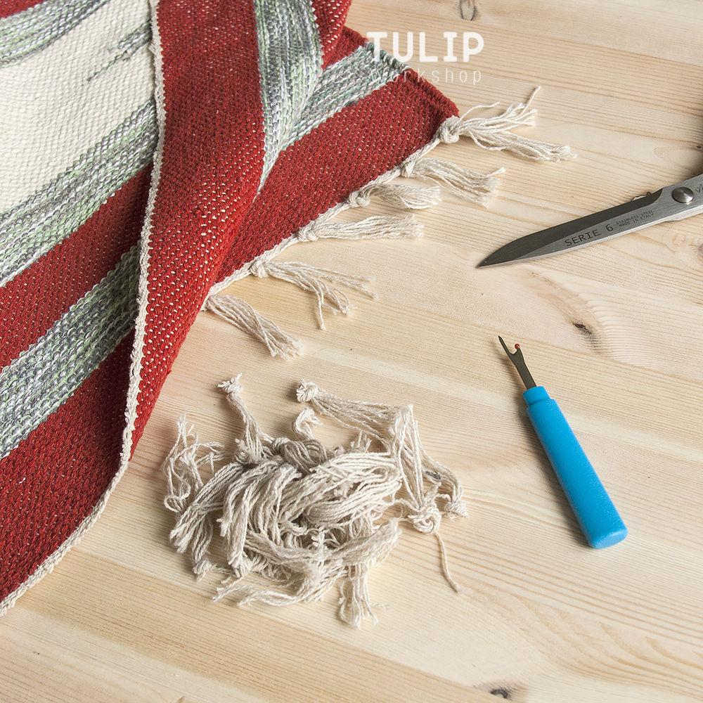 Шьем сумку-шоппер из домотканого коврика без выкройки, фото № 2