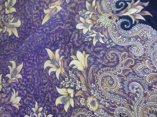 Дарим вторую жизнь павловопосадскому платку в валяных изделиях | Ярмарка Мастеров - ручная работа, handmade