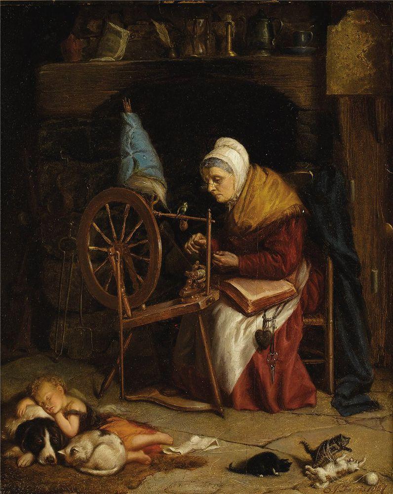 Когда есть чем заняться — стареть некогда: душевные картины о бабушках-рукодельницах, фото № 10