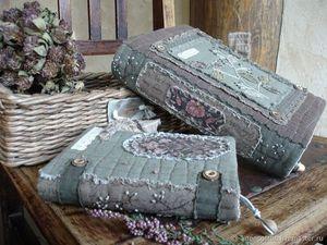 Комплект обложек Апрельский сад свободен для продажи. Ярмарка Мастеров - ручная работа, handmade.