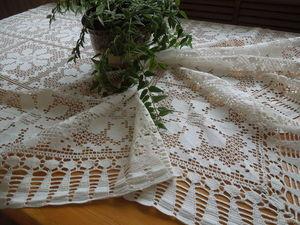 40 % скидка на винтажные скатерти!. Ярмарка Мастеров - ручная работа, handmade.