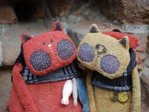 Коты за полцены!!!. Ярмарка Мастеров - ручная работа, handmade.
