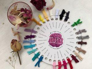 Палитра цветов нашей пряжи TUTY. Ярмарка Мастеров - ручная работа, handmade.