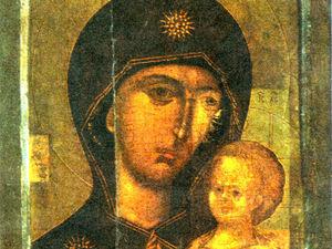 Петровская икона Пресвятой Богородицы. Ярмарка Мастеров - ручная работа, handmade.