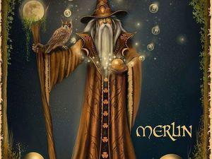 Мерлин | Ярмарка Мастеров - ручная работа, handmade