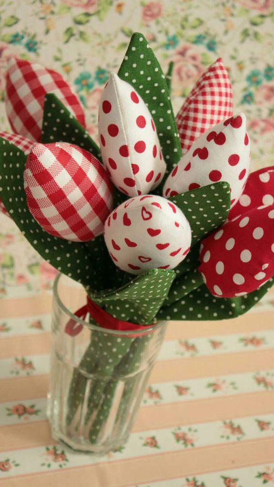 тильда тюльпан, текстильнй тюльпан, на день рождения