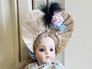 Антикварная кукла BRU JNE 39 см. Реплика. | Ярмарка Мастеров - ручная работа, handmade