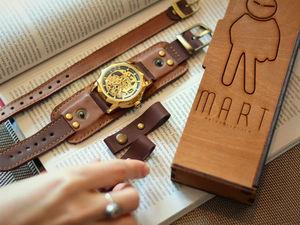 Вторая по популярности модель в линейке часов Studio MART!. Ярмарка Мастеров - ручная работа, handmade.
