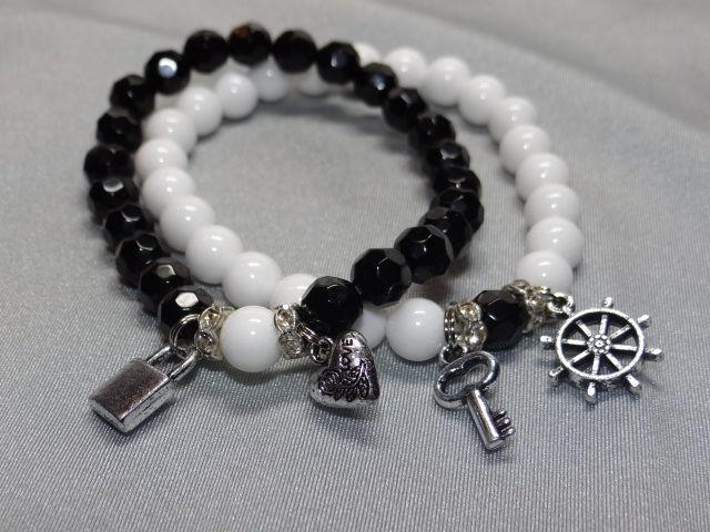 подарок на 14 февраля, авторские украшения, браслет из камней, скидка