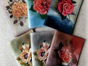 Новая серия обложек | Ярмарка Мастеров - ручная работа, handmade