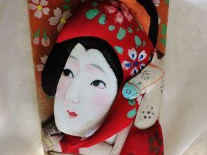 Прекрасная Гейша — антикварная новинка магазина. Посвящается выставке искусства Японии эпохи Эдо. Ярмарка Мастеров - ручная работа, handmade.