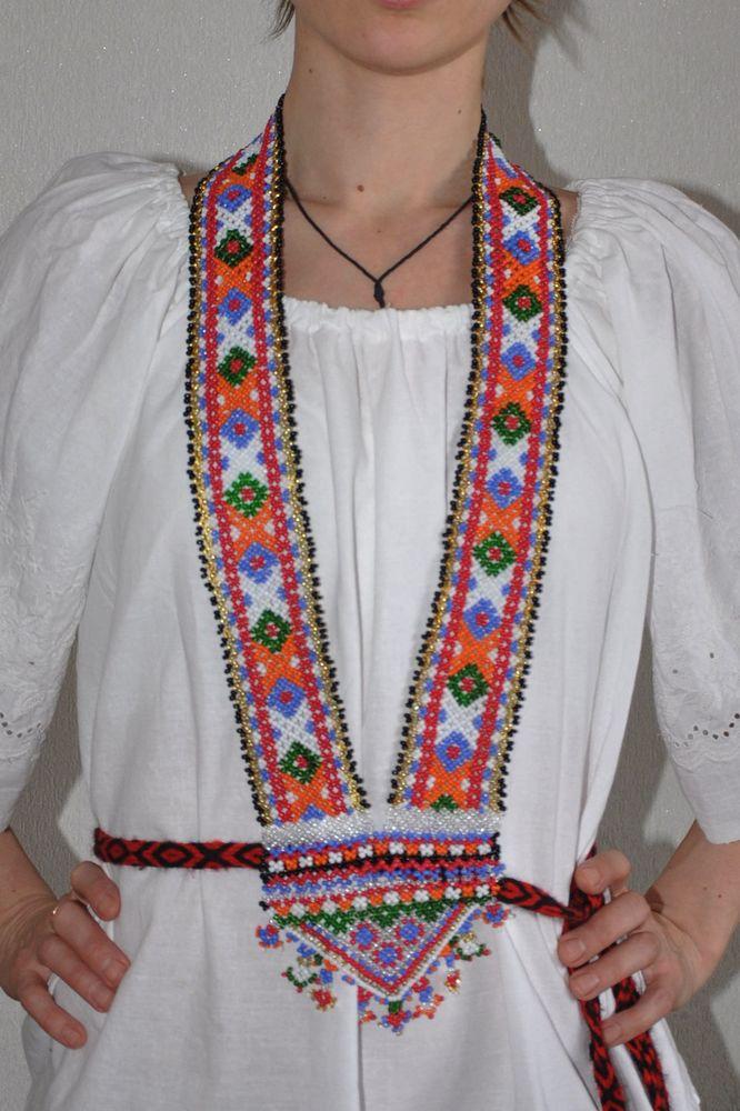 бисер, чеп, традиционное украшение, брянщина