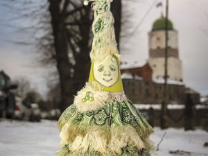 Создаем текстильную елочку-красавицу для новогоднего интерьера | Ярмарка Мастеров - ручная работа, handmade