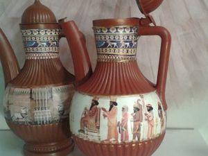 Декорируем кувшин, или Как из дешевой пластмассы создать древнюю реликвию. Ярмарка Мастеров - ручная работа, handmade.