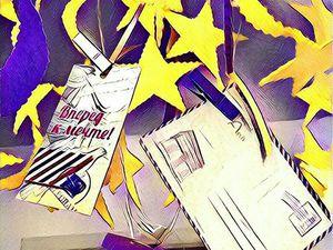 Мастерим «звездный» мобиль с фетровыми фигурками. Ярмарка Мастеров - ручная работа, handmade.