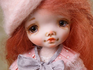 Ляна, коллекционная кукла из полимерной глины. Ярмарка Мастеров - ручная работа, handmade.