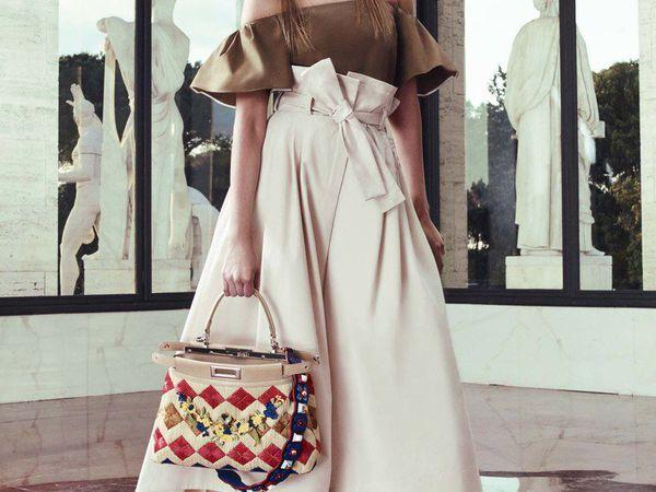 Яркая коллекция Fendi весна-лето 2017 | Ярмарка Мастеров - ручная работа, handmade