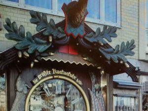 Kuckucksuhr или Самые большие часы с кукушкой. Ярмарка Мастеров - ручная работа, handmade.