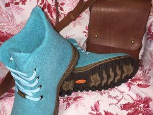 Мастер класс по созданию цельновалянной обуви с установкой на подошву | Ярмарка Мастеров - ручная работа, handmade