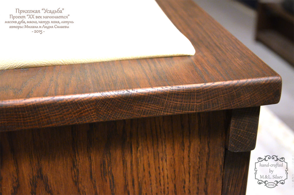 мебель из массива, дубовая доска