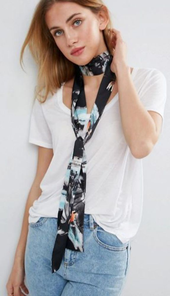 Длинный узкий шарфик: как и с чем носить этот стильный аксессуар, фото № 6