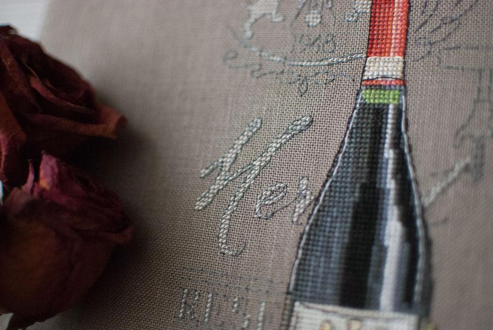 бутылка вина, натюрморт