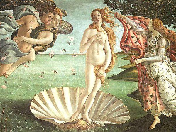 Прекрасная картина «Рождение Венеры» в деталях | Ярмарка Мастеров - ручная работа, handmade