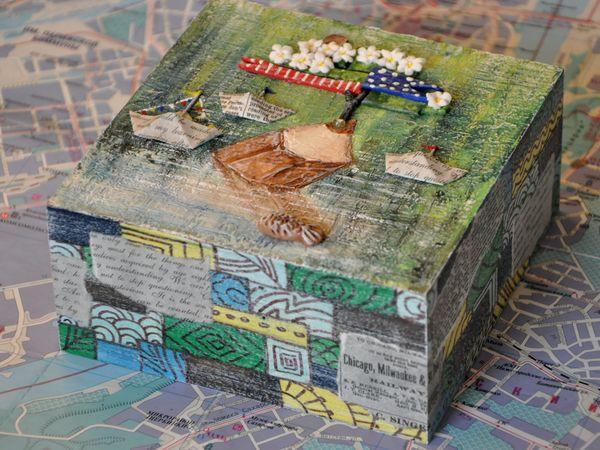 Оформляем коробочку «Катерок». Ярмарка Мастеров - ручная работа, handmade.